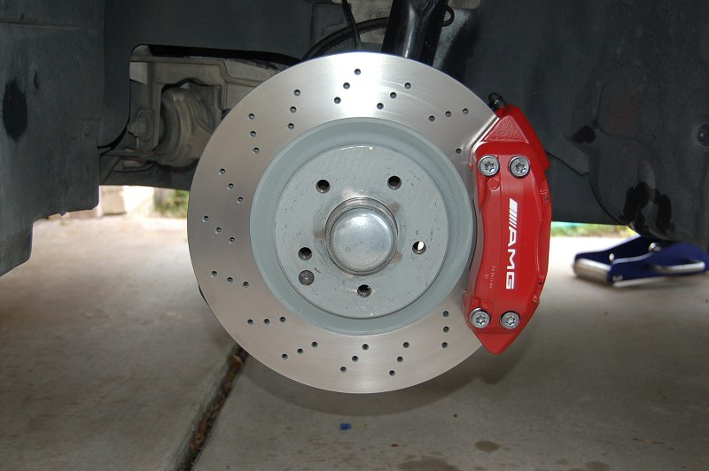 Mercedes Benz Brake Pads And Rotors >> 05 SLK 350 Calipers rebirth - MBWorld.org Forums