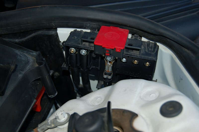 battery distribution block  hood mbworldorg forums