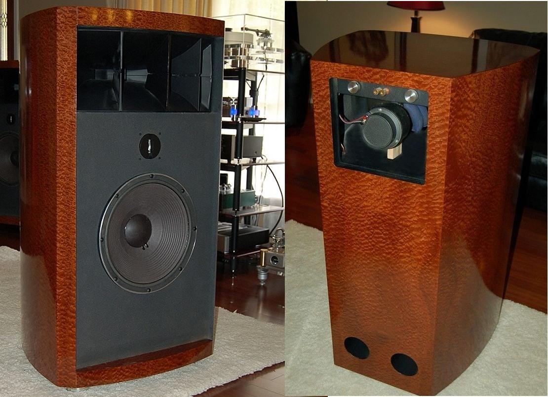 Altec horn speakers horn speakers in sapele pommele jbl 2235h altec